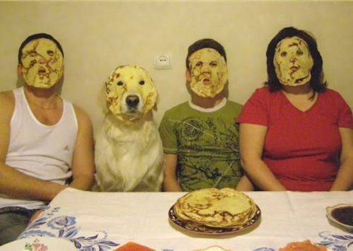 Pancake face family