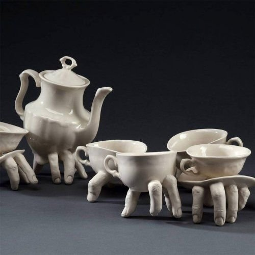 Walking tea set