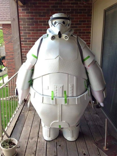Fat stormtrooper